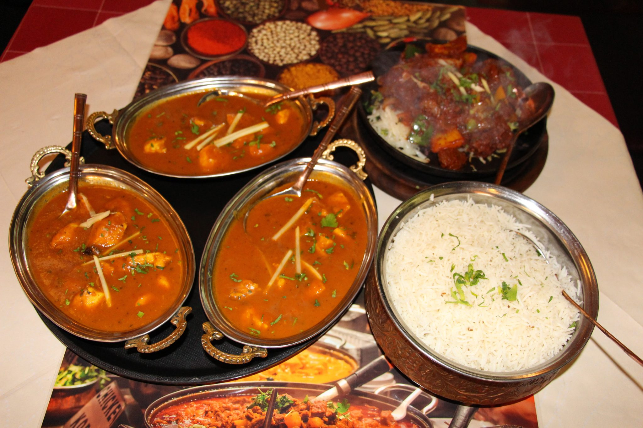 vegetarian Indian dishes served in Berlin